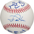 Autographs:Baseballs, Circa 2000 Presidents of the United States (4) Multi-SignedBaseball....