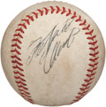 Autographs:Baseballs, Late 1960's Roberto Clemente Single Signed Baseball....