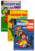 Bronze Age (1970-1979):Humor, Raggedy Ann and Andy Related Group (Gold Key, 1971-73) Condition:Average FN/VF.... (Total: 14 Comic Books)