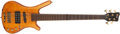 Musical Instruments:Electric Guitars, Modern Warwick 5-String FNA Jazz Man Wood Guitar, #G 116525 05....