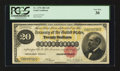 Large Size:Gold Certificates, Fr. 1178 $20 1882 Gold Certificate PCGS Very Fine 30.. ...