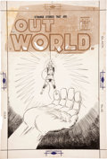 Original Comic Art:Covers, Steve Ditko Out of This World #3 Cover Original Art(Charlton, 1957)....