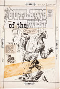Original Comic Art:Covers, Dick Giordano Outlaws of the West #29 Cover Original Art(Charlton, 1961)....