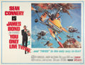 """Movie Posters:James Bond, You Only Live Twice (United Artists, 1967). Subway (41"""" X 54"""")Style B.. ..."""