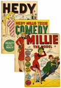 Golden Age (1938-1955):Miscellaneous, Timely Golden Age Humor Group (Timely, 1947-48).... (Total: 8 Comic Books)