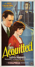 "Movie Posters:Drama, Acquitted (Columbia, 1929). Three Sheet (41"" X 81"").. ..."