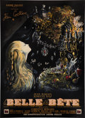 "Movie Posters:Drama, Beauty and the Beast (DisCina, 1946). French Grande (47"" X 63"")....."