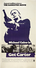 "Movie Posters:Crime, Get Carter (MGM, 1971). Three Sheet (41"" X 81"").. ..."