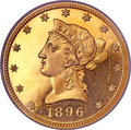 Proof Liberty Eagles, 1896 $10 PR66 PCGS. CAC....