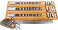 Musical Instruments:Lap Steel Guitars, 1970 Console Steel 3NE Natural Wood Lap Steel, #JL155....
