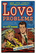 Golden Age (1938-1955):Romance, True Love Problems and Advice Illustrated #8 File Copy (Harvey,1951) Condition: NM-....