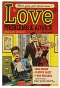 Golden Age (1938-1955):Romance, True Love Problems and Advice Illustrated #6 File Copy (Harvey,1950) Condition: NM-....