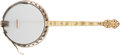Musical Instruments:Banjos, Mandolins, & Ukes, 1920s B & D Style 1 Silver Bell Sultance Banjo, #28498....