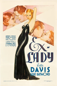 "Ex-Lady (Warner Brothers, 1933). One Sheet (27"" X 41"")"