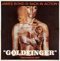 "Movie Posters:James Bond, Goldfinger (United Artists, 1964). Six Sheet (81"" X 81"").. ..."