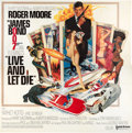 "Movie Posters:James Bond, Live and Let Die (United Artists, 1973). Six Sheet (81"" X 81"")....."