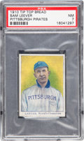 Baseball Cards:Singles (Pre-1930), 1910 D322 Tip Top Bread Sam Leever PSA NM 7 - Pop One, FinestExample Known! ...