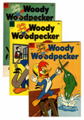 Golden Age (1938-1955):Cartoon Character, Woody Woodpecker File Copy Group (Dell, 1953-62) Condition: Average VF/NM.... (Total: 29 Comic Books)
