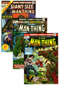 Bronze Age (1970-1979):Horror, Man-Thing Group - Western Penn pedigree (Marvel, 1974-79)Condition: Average NM-.... (Total: 26 Comic Books)