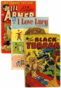 Golden Age (1938-1955):Miscellaneous, Miscellaneous Golden Age Comics Box Lot (Various publishers, 1940s-60s) Condition: Average FR....