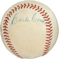 Autographs:Baseballs, 1960's Earle Combs Signed Baseball....