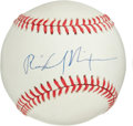 Autographs:Baseballs, Circa 1990 Richard Nixon Single Signed Baseball....