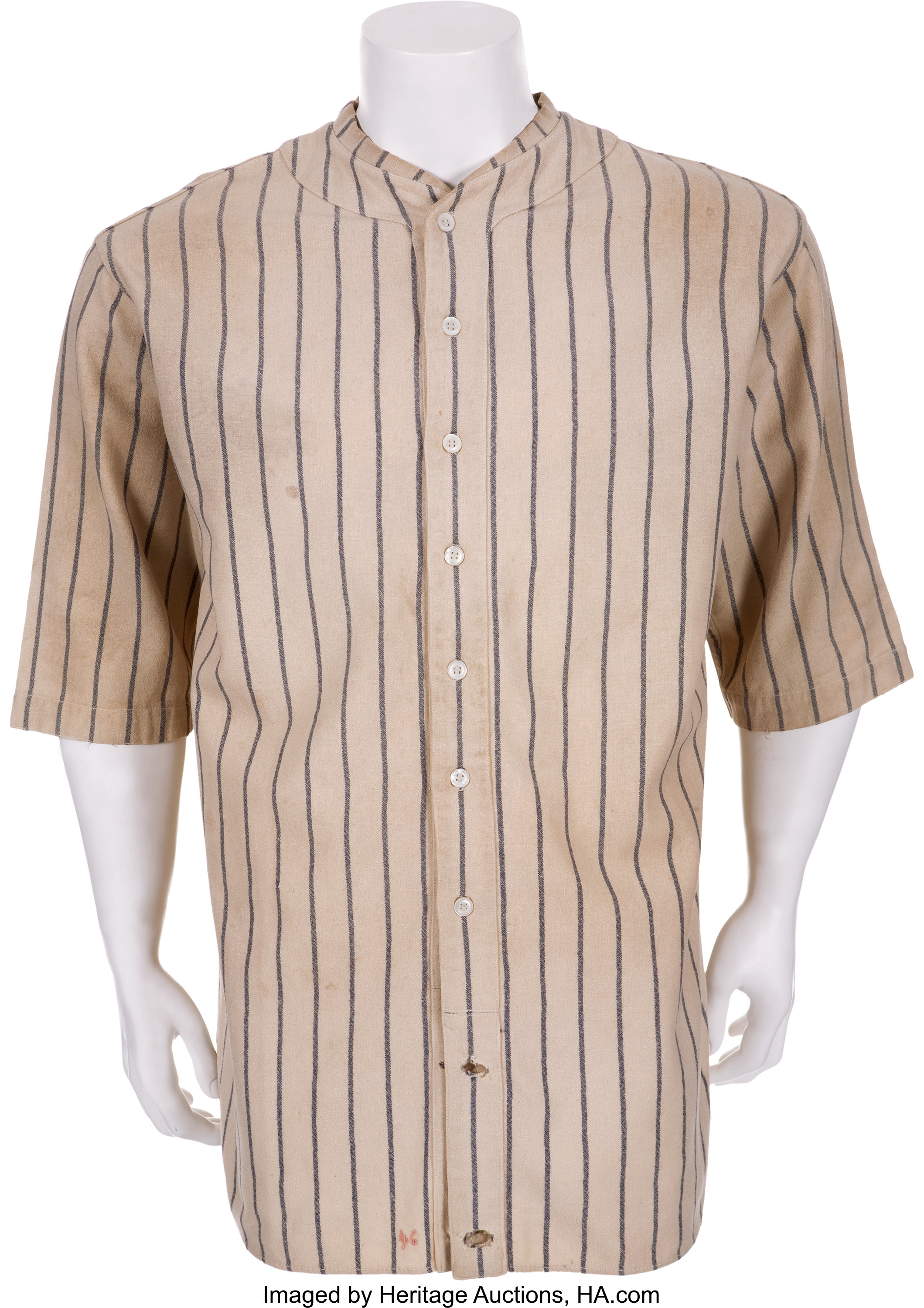 finest selection f0d45 b55d0 1927 Lou Gehrig Game Worn New York Yankees Jersey ...