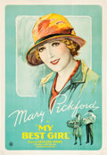 "Movie Posters:Comedy, My Best Girl (United Artists, 1927). One Sheet (27"" X 41"").. ..."