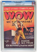 Wow Comics #2 - Lost Valley pedigree (Henle, 1936) CGC VF 8.0 OFF-WHITE TO WHITE pages