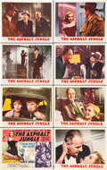 "Movie Posters:Film Noir, The Asphalt Jungle (MGM, R-1954). Lobby Card Set of 8 (11"" X 14"")..... (Total: 8 Items)"