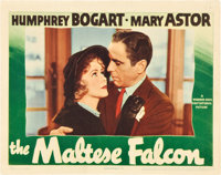 "The Maltese Falcon (Warner Brothers, 1941). Lobby Card (11"" X 14"")"