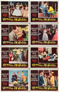 "Movie Posters:Romance, Roman Holiday (Paramount, 1953). Lobby Card Set of 8 (11"" X 14"")..... (Total: 8 Items)"