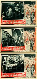 "Movie Posters:Foreign, The Bicycle Thief (Ente Nazionale Industrie Cinematografiche(ENIC), 1948). Italian Photobusta Set of Eleven (13.5"" X 19"")....(Total: 13 Items)"