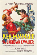 "Movie Posters:Western, The Unknown Cavalier (First National, 1926). One Sheet (27"" X41"").. ..."