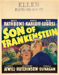 "Movie Posters:Horror, Son of Frankenstein (Universal, 1939). Jumbo Window Card (22"" X28"").. ..."