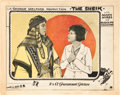 "Movie Posters:Romance, The Sheik (Paramount, 1921). Lobby Card (11"" X 14"").. ..."