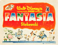 "Movie Posters:Animation, Fantasia (RKO, 1940). Title Lobby Card (11"" X 14"").. ..."