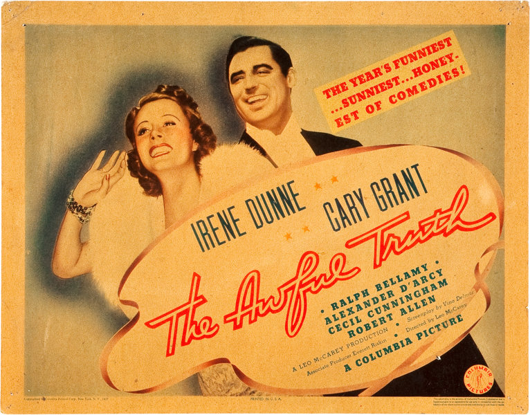the awful truth full movie
