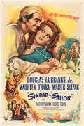 "Movie Posters:Adventure, Sinbad the Sailor (RKO, 1946). One Sheet (27"" X 41"").. ..."