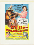 "Movie Posters:Comedy, The Kettles on the Old MacDonald's Farm (Universal International, 1957). Original One Sheet Artwork (12.75"" X 19.5"").. ..."