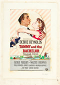 "Movie Posters:Romance, Tammy and the Bachelor (Universal International, 1957). OriginalOne Sheet Artwork by Roy Besser (25"" X 19"").. ..."