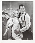 """Movie Posters:Film Noir, Charlton Heston and Janet Leigh in """"Touch Of Evil"""" (Universal International, 1958). Artist's Reference Photo (16.25"""" X 20"""")...."""