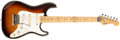 Musical Instruments:Electric Guitars, 1982 Fender Elite - Stratocaster Sunburst Guitar, #E324260....