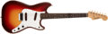 Musical Instruments:Electric Guitars, 1961 Fender Duosonic Sunburst Guitar, #59843....