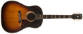 Musical Instruments:Acoustic Guitars, 1956 Gibson SJ Sunburst Guitar, #V4395....