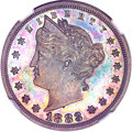 Patterns, 1883 5C Liberty Head Five Cents, Judd-1715, Pollock-1920, High R.7,PR64 Brown NGC....