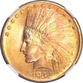 Indian Eagles, 1932 $10 MS65+ NGC....