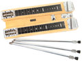 Musical Instruments:Lap Steel Guitars, 1948 Fender Dual 8 Professional Blonde Lap Steel, #D 761....