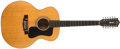 Musical Instruments:Acoustic Guitars, 1973 Guild F 212 XL Blonde Guitar, #77440....