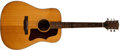 Musical Instruments:Acoustic Guitars, 1973 Gibson J-50 Deluxe Natural Acoustic Guitar, #A003758....